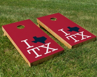 Houston Texans Pride Cornhole Board Set