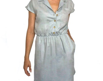 301 Collared Pocket Dress