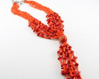 Bright Multistrand Necklace