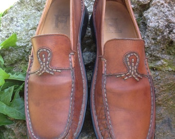 Brown leather loafers - Hobbs by Marilyn Anselm