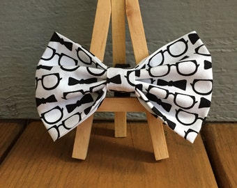 glasses and bow ties, Dog bow tie, Bow tie dog bow tie