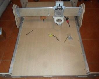CNC robust Easy V1 plans to build