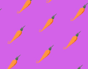 Carrot Postcard  Pattern