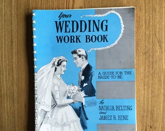 Vintage Bridal Guide - Your Wedding Work Book