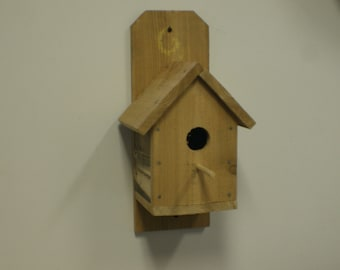 Rough Cedar Bird House