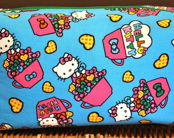Large Hello Kitty! cosmetic bag