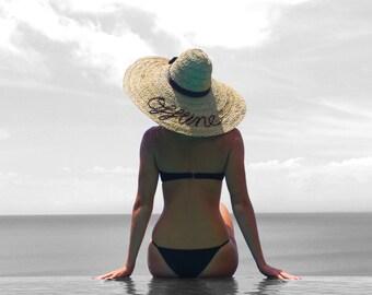 Offline - Handmade Beach Hat