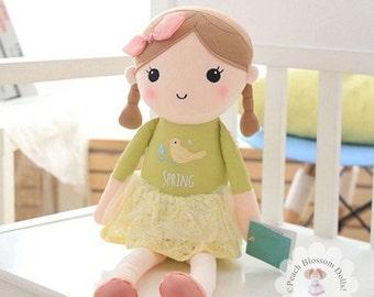 Dolls , Plush Dolls, Plush Handmade Dolls, Girls Toys, Plush Dolls, handmade plush toys