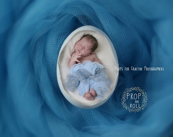 Newborn Backdrop Prop - Egg Shell digital prop, EGG, nest, baby on tulle nest,photographie bébé,Neugeborene, bambino fotografia