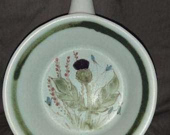 Buchan, Portobello, Made in Scotland, Finest Stoneware, Thistle Design Soup Bowl With Handle