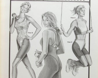 Ann Person Collectibles Stretch and Sew Pattern - Workout Basics # 314 - Sewing Pattern