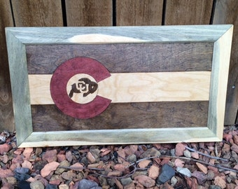 Colorado Flag CU Buffs - Made to Order