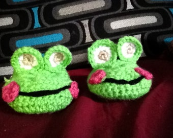 Baby Froggy Slippers
