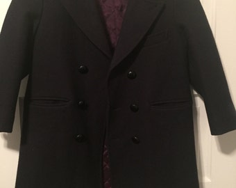 Children's Vintage Wool Pea Coat an Imps Original