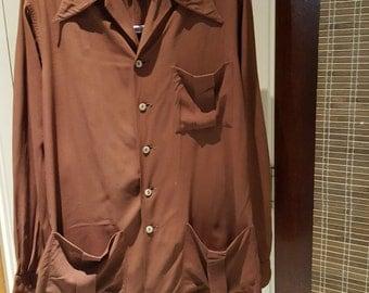 1940's Gabardine Leisure Jacket