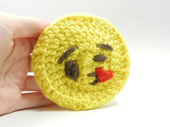 Made To Order - amigurumi - emoji plush - keychain