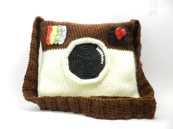 Instagram bag - original - app - crochet bag - handmade