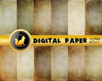 Grunge Vintage Scrapbook Paper,Vintage Digital Paper,Rainbow Background,grunge Backdrop,digital paper,Old Background,scrapbook paper,grunge