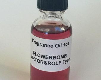 FLOWERBOMB VIKTOR&ROLF Type Fragrance Oil 1oz
