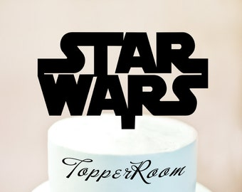 Star Wars cake topper,star wars party,Star Wars Birthday cake topper,custom cake topper,Star Wars decoration,Personalised cake topper (1046)