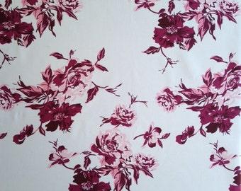 Uphollister Burgundy Fabric