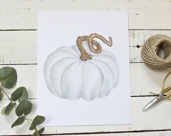 White Pumpkins, Pumpkin Printable, Primitive Fall Signs, Primitive Country Decor, Farmhouse Kitchen Art, Farmhouse Decor, Instant Download