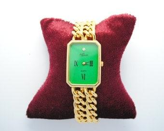 Watch BIJOWIN gold chain - metal watch