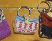 Mini-purse keyrings