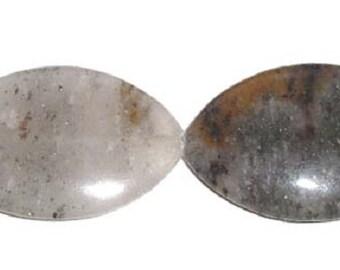 Brown Moonstone Marquise Gemstone Beads