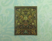 Dollhouse Miniature Small William Morris Tapestry Print Wall Panel