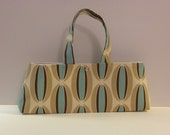 Ready to Ship The Hildegarde Modern Handbag Vintage Style- Coconuts 50s Retro