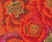 BRASSICA RUST Orange,Fall 2015 1/2 Yard PWGP051 / Kaffe Collective Fall 2015  Westminster Fabric / Cotton, Quilt Craft and Apparel fabric
