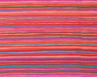 STRATA  RED 1/2 yard of PWGP150 / Kaffe Collective Fall 2015  / Westminster Fabric / Cotton, Quilt Craft and Apparel fabric