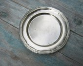 Silver Plated Candy Serving Dish Small Dish Flat Serving Dish Small Party Dish
