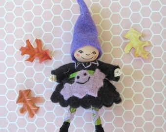 Trick or Treat Pixie Brooch
