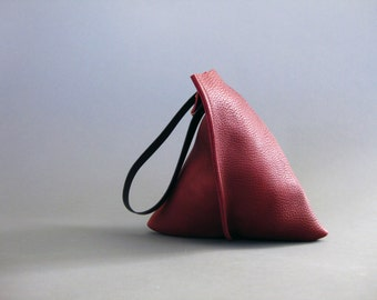 16in Wedge - Port leather