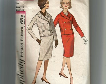 Simplicity Misses' Suit Pattern 4649