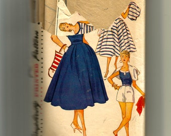 Simplicity Junior Misses' and Misses' Blouse, Skirt, Shorts, and Jacket Pattern 4747
