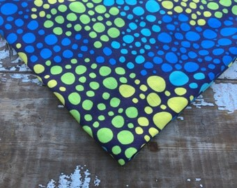 Polka Dot Fabric-Pebbles-Quilting Cotton