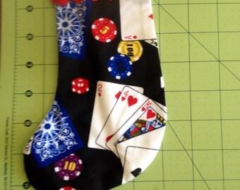 Poker Christmas Tree Ornament #1
