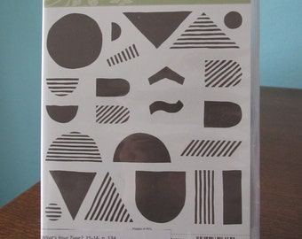 NEW What's Your Type Stampin' Up! retired photopolymer stamp set (23)