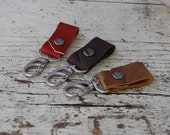 Leather Key Strap/ Leather Fob / Handmade Leather Accessories / Leather Key Chain / Simple Handmade Key Chain