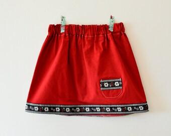 Size 4/5 - Edelweiss Skirt