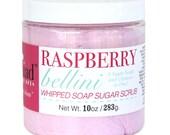 Raspberry Bellini Whipped Soap Sugar Scrub