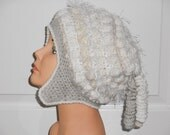 On Sale Freeform Freestyle Crochet Hat with Corkscrews Price Marked is the Sale Price