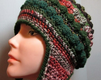 Freeform Freestyle Crochet Helmet Hat Free Shipping in the USA