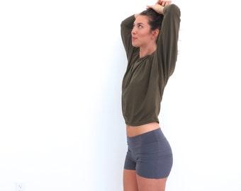 Organic Yoga Shorts