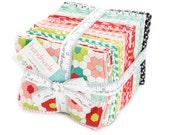 SALE - Handmade Fat Quarter Bundle from Bonnie and Camille for Moda Fabrics, 40 fat quarters