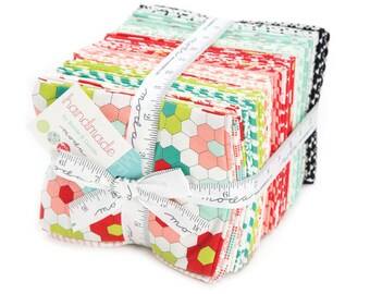 Handmade Fat Quarter Bundle from Bonnie and Camille for Moda Fabrics, 40 fat quarters