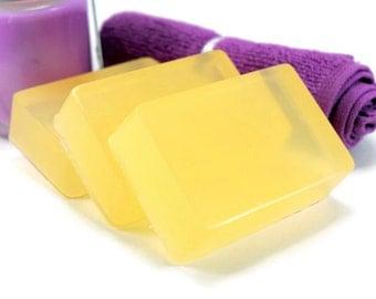 Amber Romance Soap, Glycerin Soap Bar, Homemade Bar Soap